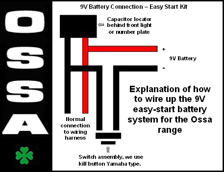 ossa tri trials rh birkettmotosport com Light Switch Wiring Diagram ossa explorer wiring diagram