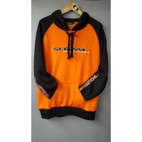 Scorpa Orange and Black Hoodie