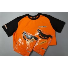 Scorpa Orange and Black T-Shirt