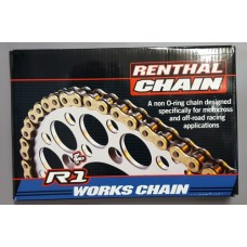 Renthal 520 x 102 link R1 Chain Gold