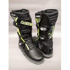 Rainers Black/Fluro 3040 Trial Boot