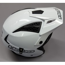 Hebo Trials Helmet - White