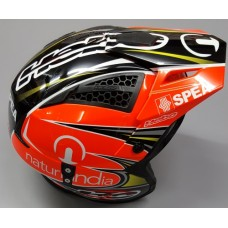 Hebo Trials Helmet - Black/Orange