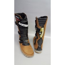 New Rainers trials boot Brown full grain leather